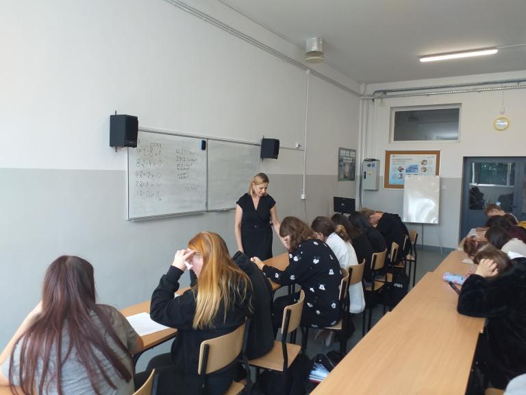 Spotkanie informacyjno-promocyjne w Zespole Szkół