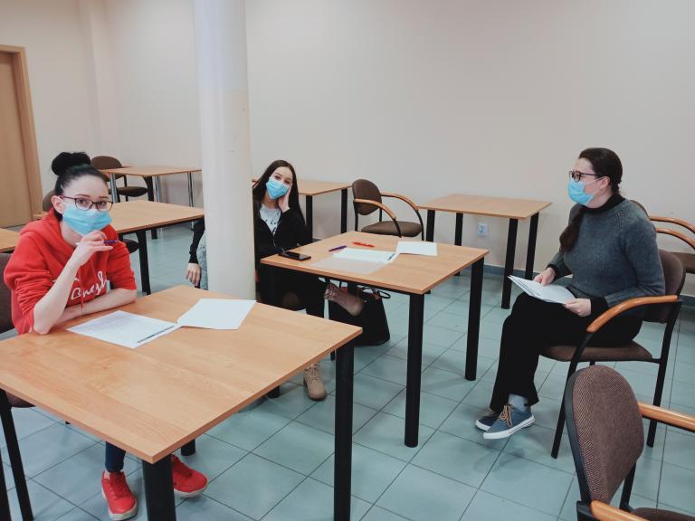 """""""Sukces zaczyna się od grosza""""- warsztaty z doradztwa zawodowego w Tczewie"""