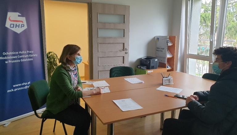 Konsultacje indywidualne w Młodzieżowym Centrum Kariery w Pruszczu Gdańskim