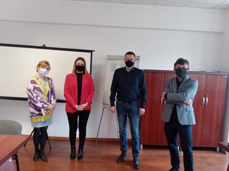 Spotkanie z przedstawicielami firmy UNIA FAMAROL w Słupsku