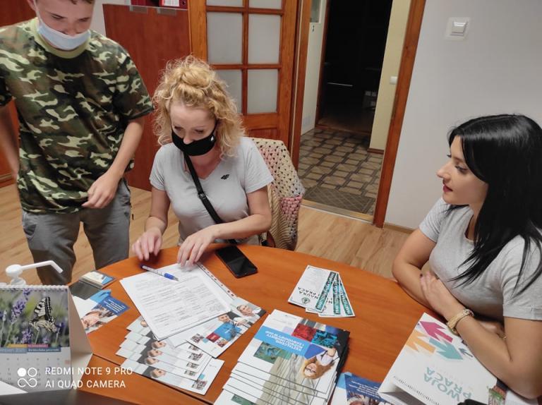 Punkt rekrutacyjny w Cechu Rzemiosł Różnych w Kwidzynie