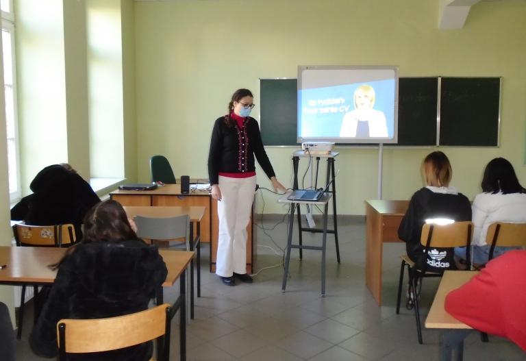 Zajęcia z doradztwa zawodowego w klasach branżowych w Tczewie