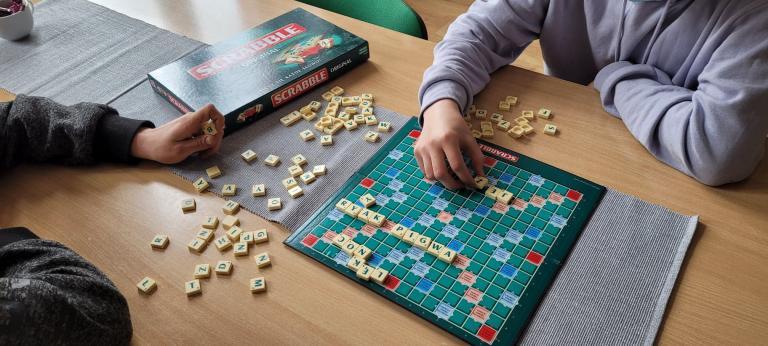 """Dzień """"Scrabble"""" w 11-16 Hufcu Pracy w Kwidzynie"""