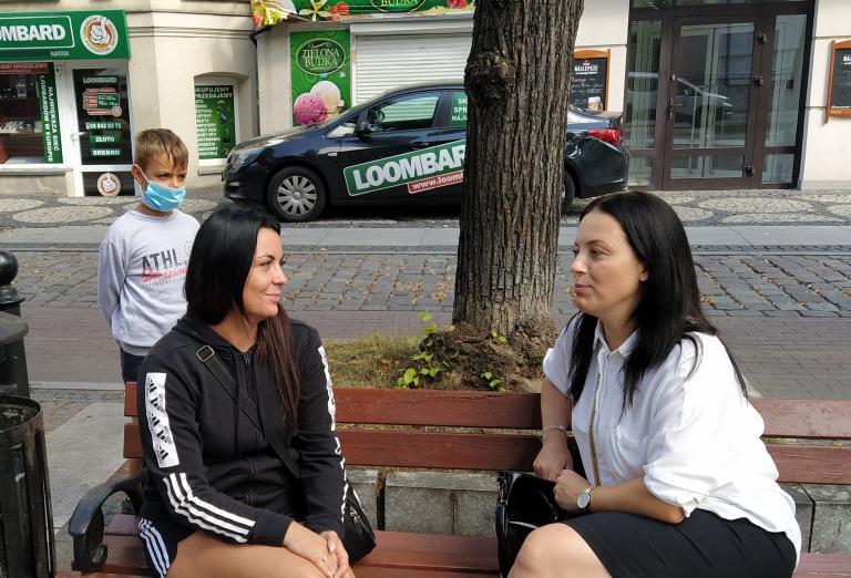Absolwenci z wizytą w 11-19 Hufcu Pracy w Słupsku
