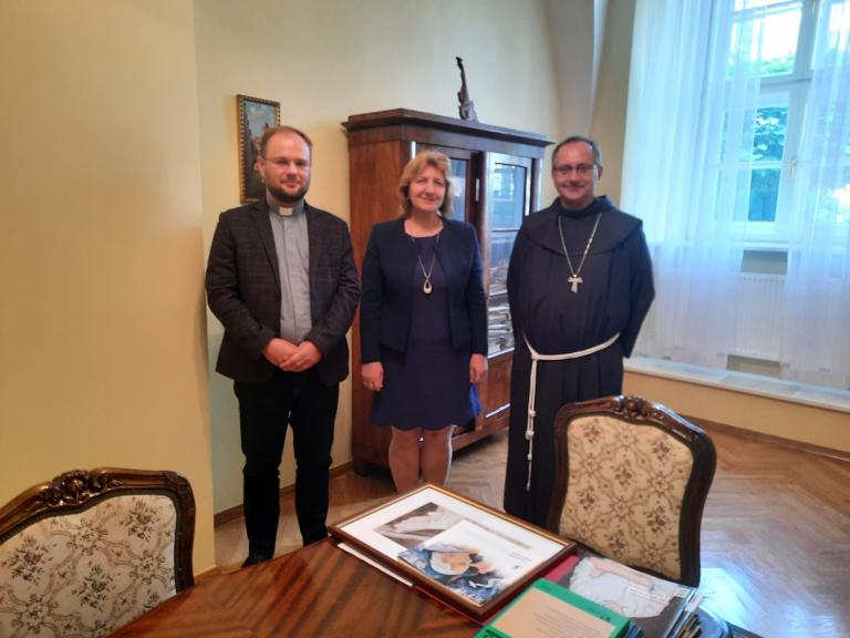Spotkanie z o. bp Damianem Muskusem