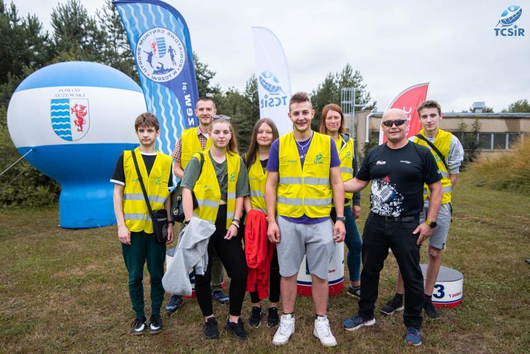 Klub Aktywnych OSiW Tczew pomagał w Tczewskim Crossie Rowerowym