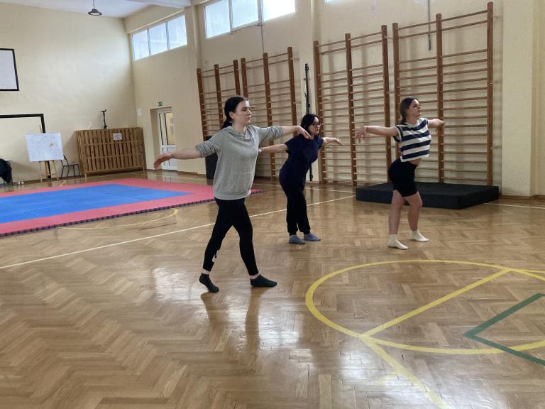 Wznowienie działalności koła tanecznego Dream Team