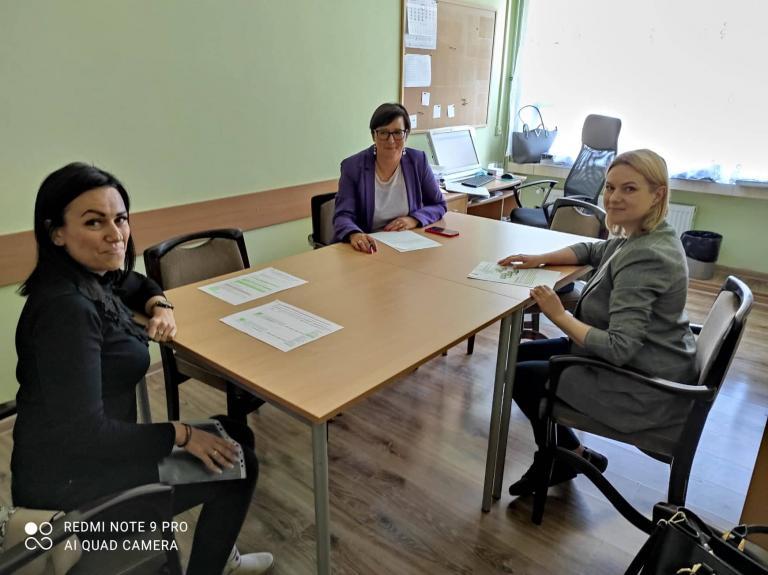 Spotkanie Przedstawicieli 11-18 HP i MCK z Dyrekcją Zespołu Szkół w Nowym Dworze Gdańskim