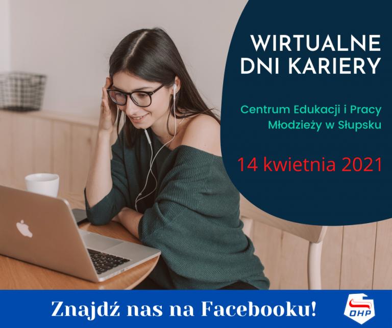 Wirtualne Dni Kariery w Centrum Edukacji i Pracy Młodzieży w Słupsku