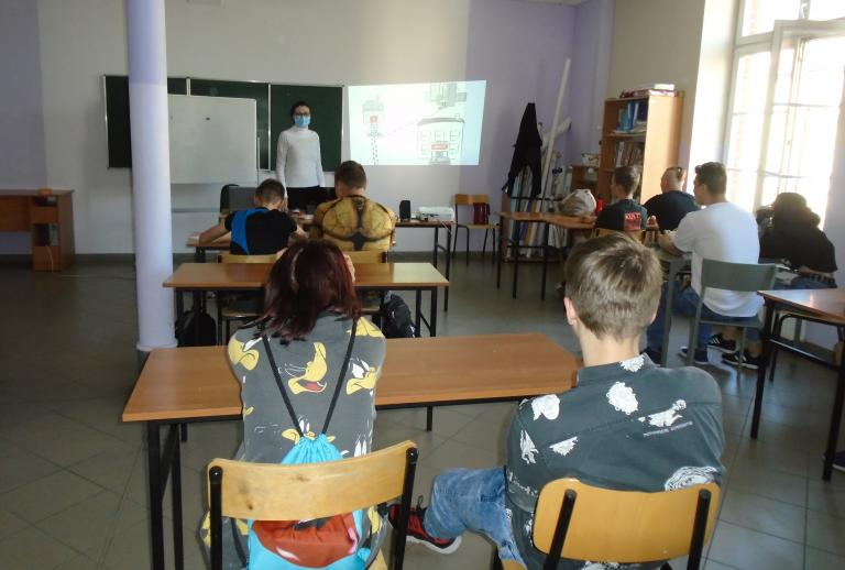 Zajęcia grupowe z doradztwa zawodowego w Tczewie