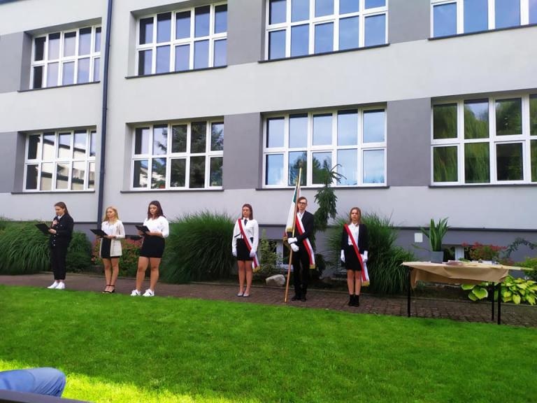 Rozpoczęcie Roku Szkolnego 2021/2022 w ZSOiO w Pruszczu Gdańskim