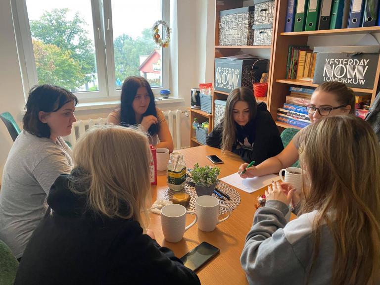 Spotkanie Rady Młodzieży w Nowym Dworze Gdańskim