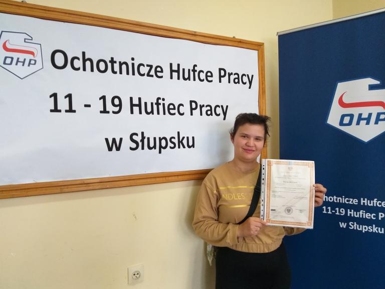 Ważne decyzje absolwentów 11-19 Hufca Pracy w Słupsku
