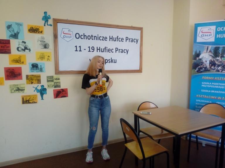 Warsztaty muzyczne w 11-19 Hufcu Pracy w Słupsku