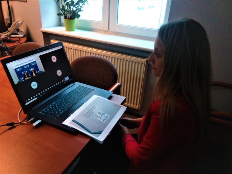Spotkania online w Kuratorium Oświaty - Inauguracja roku szkolnego 2021/2022