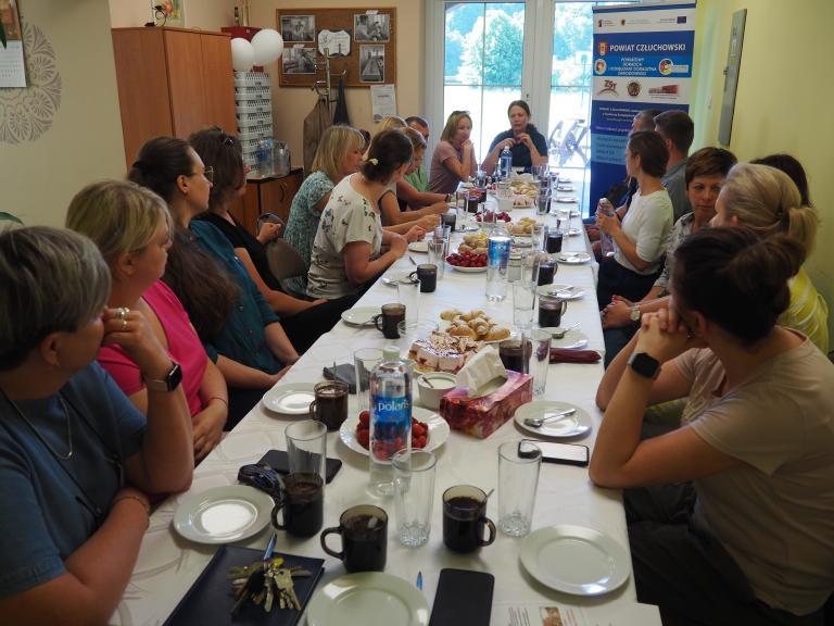Spotkanie doradców zawodowych w Ośrodku Szkolenia i Wychowania w Człuchowie