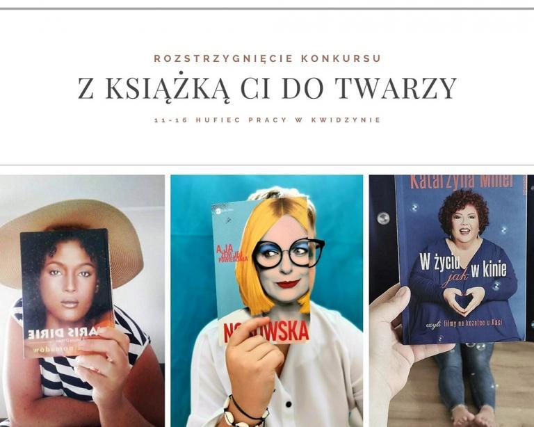 Z książką Ci do twarzy – rozstrzygnięcie Konkursu w Kwidzynie