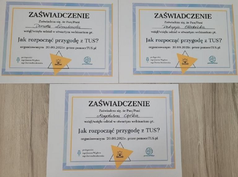 Podnoszenie Kwalifikacji Kadry 11-18 Hufca Pracy w Nowym Dworze Gdańskim