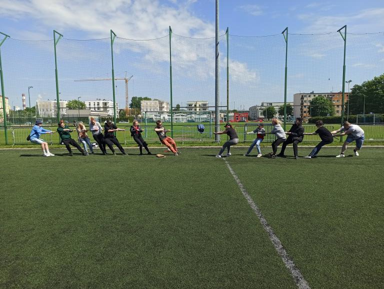 Festyn sportowy z okazji Dnia Dziecka i Święta Sportu