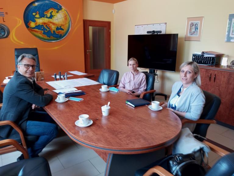 Wizyta 11-23 Hufca Pracy w Kospel w Damnicy