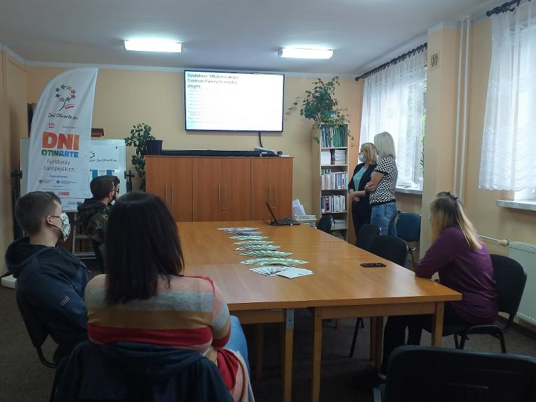 Spotkanie promocyjno-informacyjne w Powiatowym Urzędzie Pracy w Nowym Dworze Gdańskim