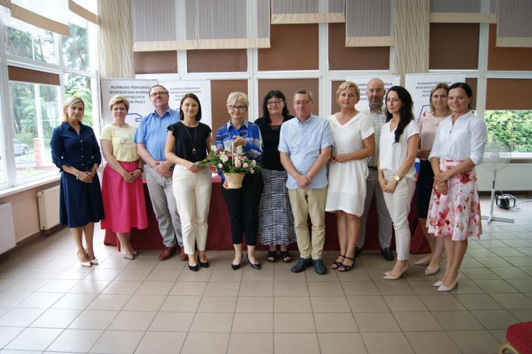 Wizyta Wiceminister Iwony Michałek w Grudziądzu