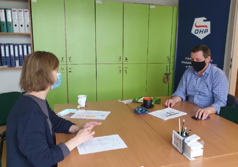 Spotkanie z pracodawcą w Młodzieżowym Centrum Kariery w Pruszczu Gdańskim