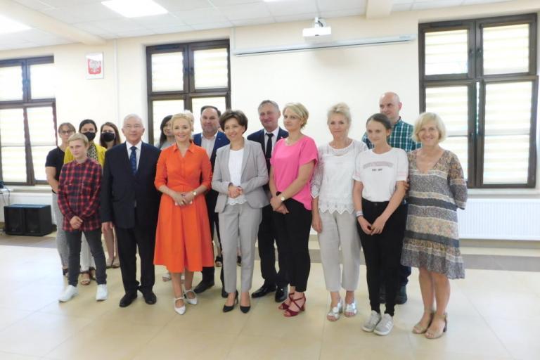 Wizyta Minister Marleny Maląg