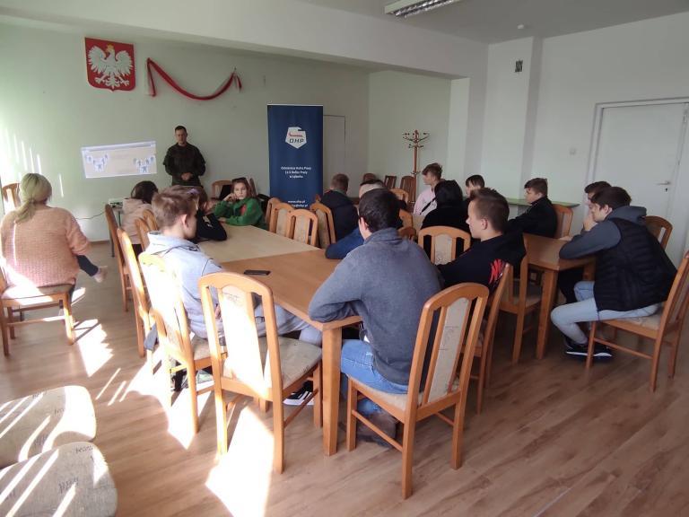 Wizyta 7 Pomorskiej Brygady Obrony Terytorialnej w Lęborku
