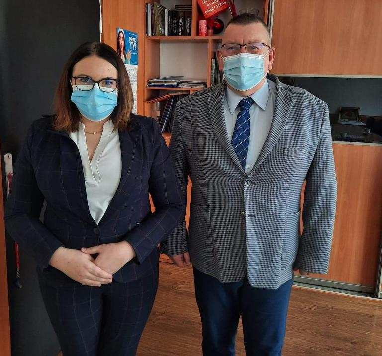 Spotkanie w Zespole Szkół Zawodowych w Starogardzie Gdańskim