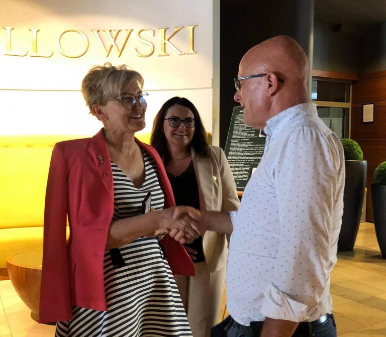 Wizyta Wiceminister Iwony Michałek na Pomorzu