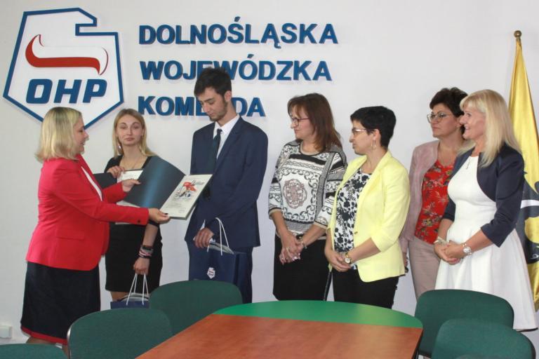 Laureaci z Dolnośląskiej WK