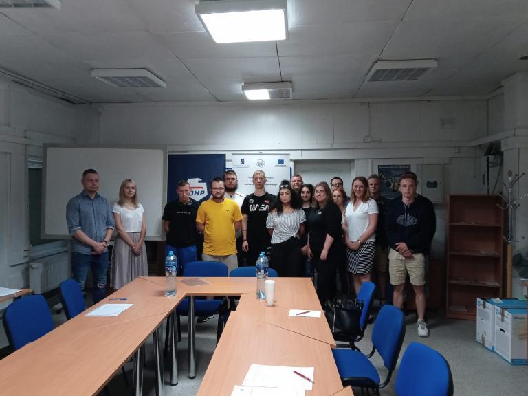 Przed wyjazdem do Lizbony - spotkanie z młodzieżą w CEiPM w Słupsku