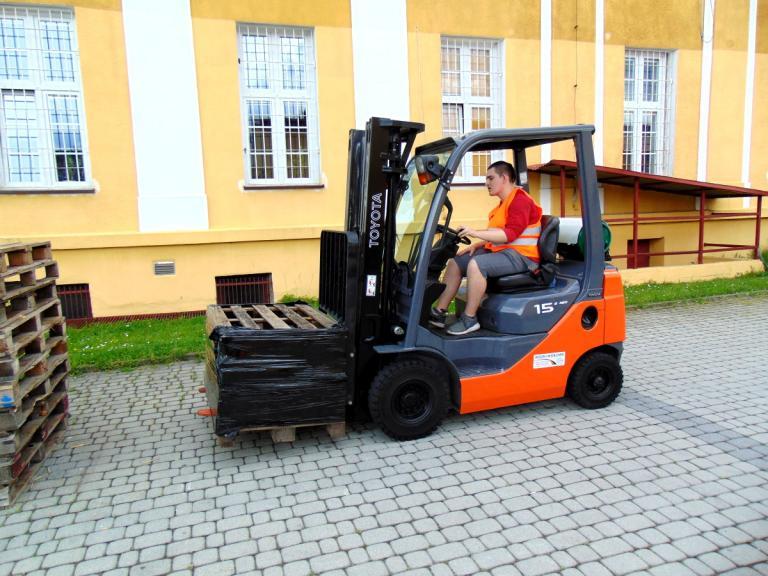 Szkolenie operatorów wózków jezdniowych