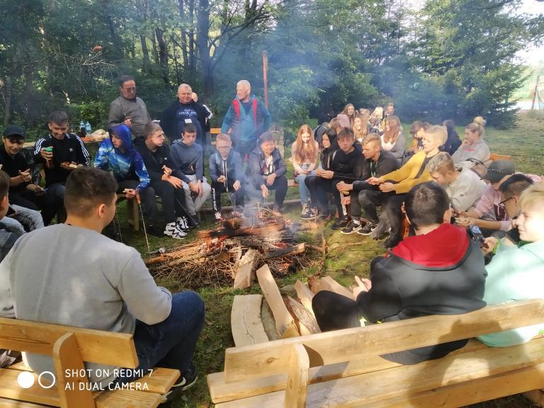 Piknik rekreacyjno-sportowy w 11-19 Hufcu Pracy w Słupsku
