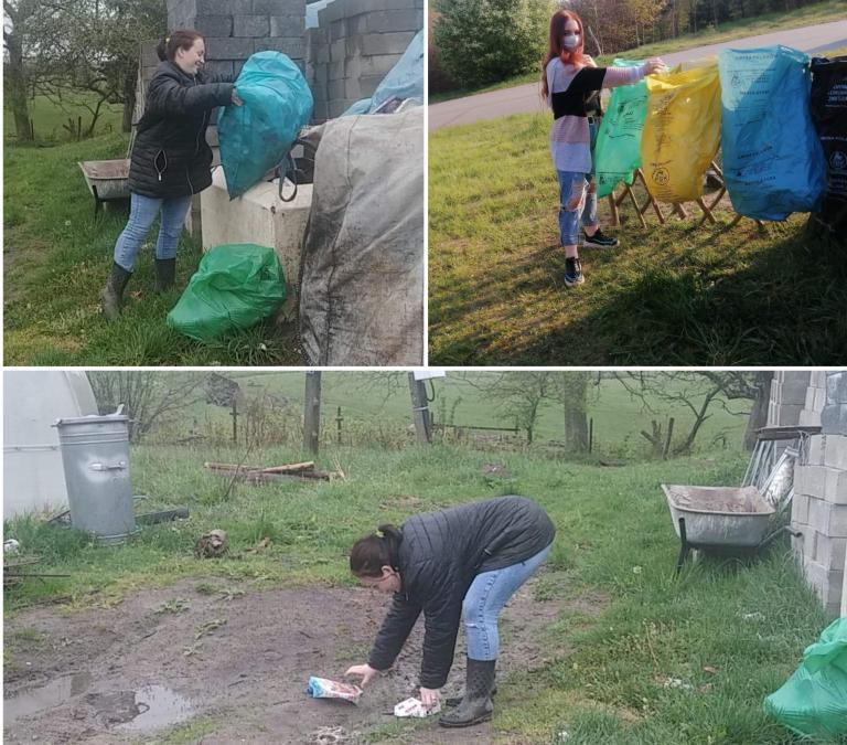 Młodzież z 11-19 Hufca Pracy w Słupsku ma swoje obowiązki domowe