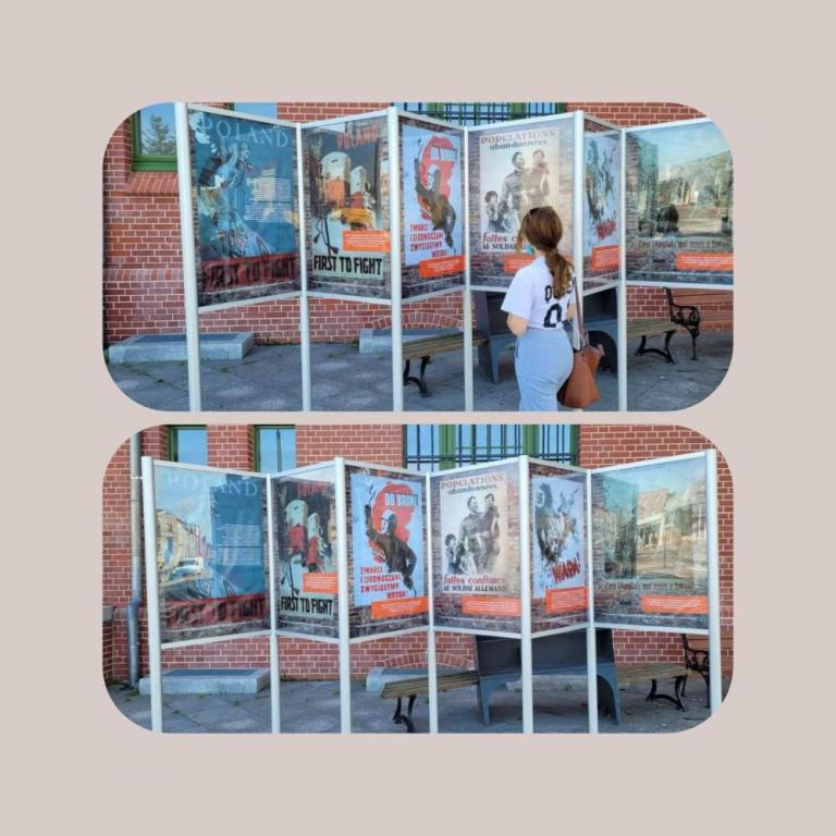 II Wojna Światowa na plakatach w Kwidzynie