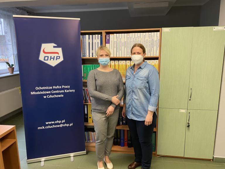 Spotkanie z powiatowym doradcą zawodowym w MCK Człuchów