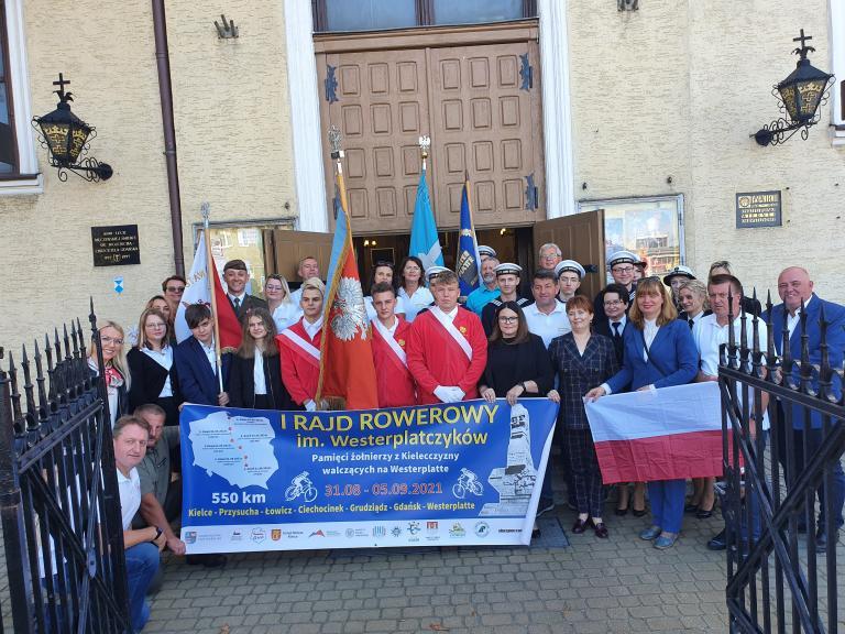 Uroczyste obchody na Westerplatte
