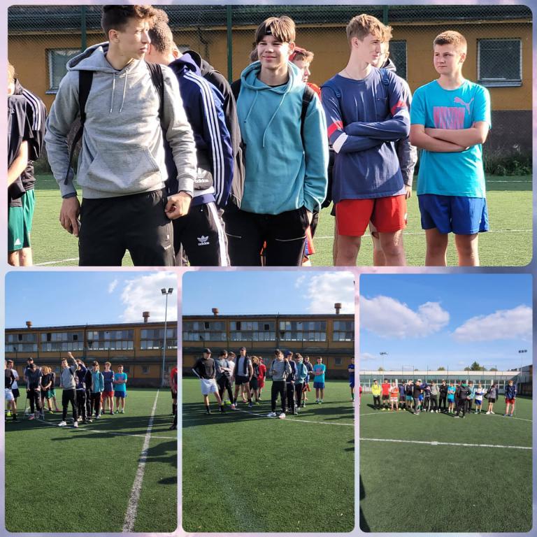 Piłka nożna – rozgrywki szkolne w 11-18 HP w Nowym Dworze Gdańskim
