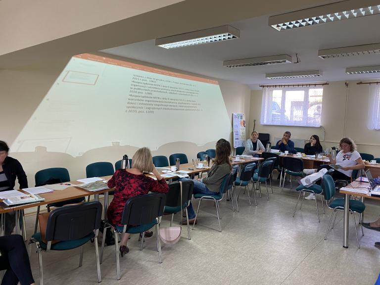 Spotkanie w ramach współpracy w powiecie człuchowskim