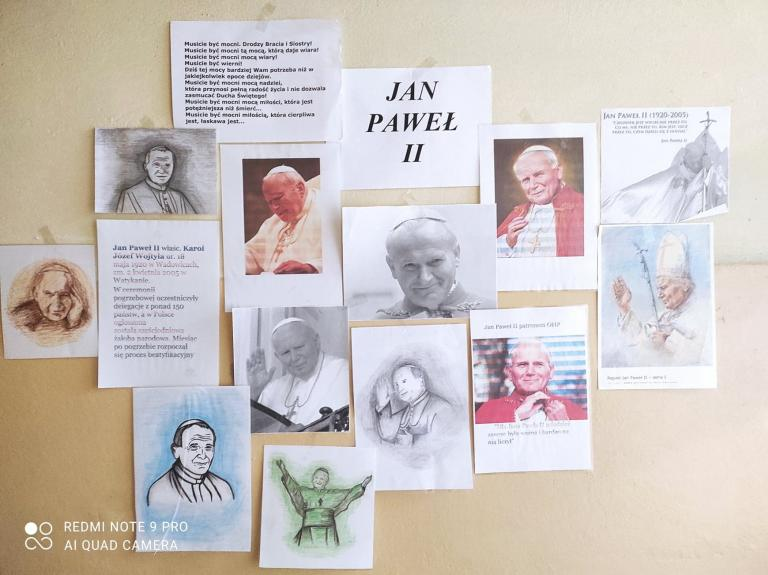 Lęborski hufiec wspomina kanonizację Jana Pawła II