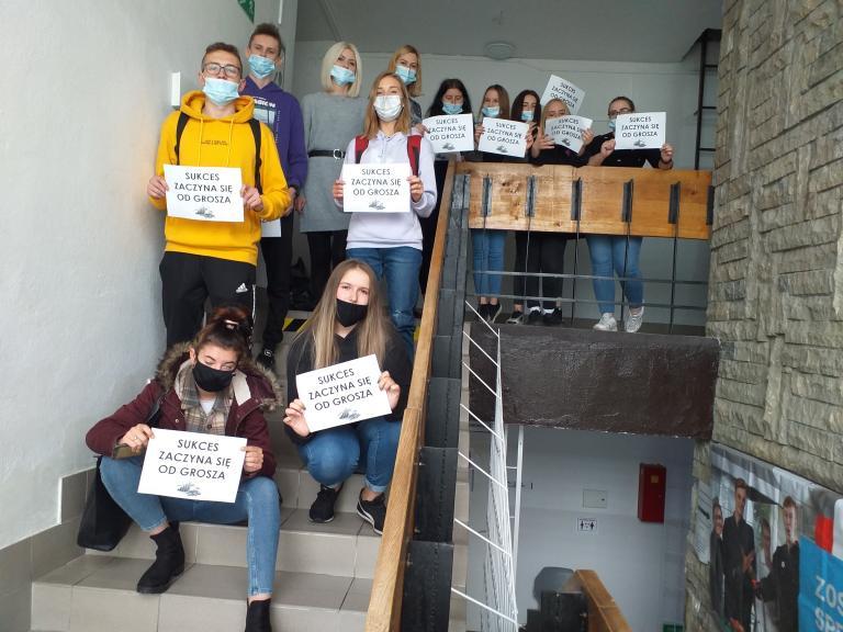"""""""Sukces zaczyna się od grosza""""- warsztaty aktywizujące w Nowym Dworze Gdańskim"""