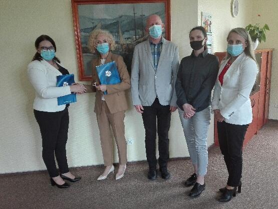 Spotkanie w Powiatowym Urzędzie Pracy w Gdyni