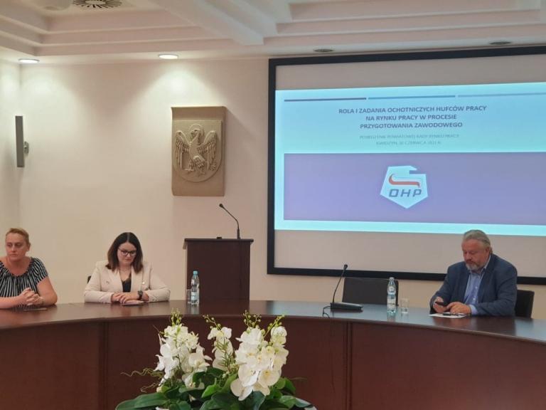 Posiedzenie Powiatowej Rady Rynku Pracy w Kwidzynie