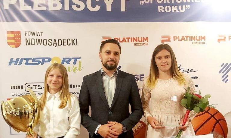 Uczestniczka HP w Starym Sączu laureatką Plebiscytu na Sportowca Roku