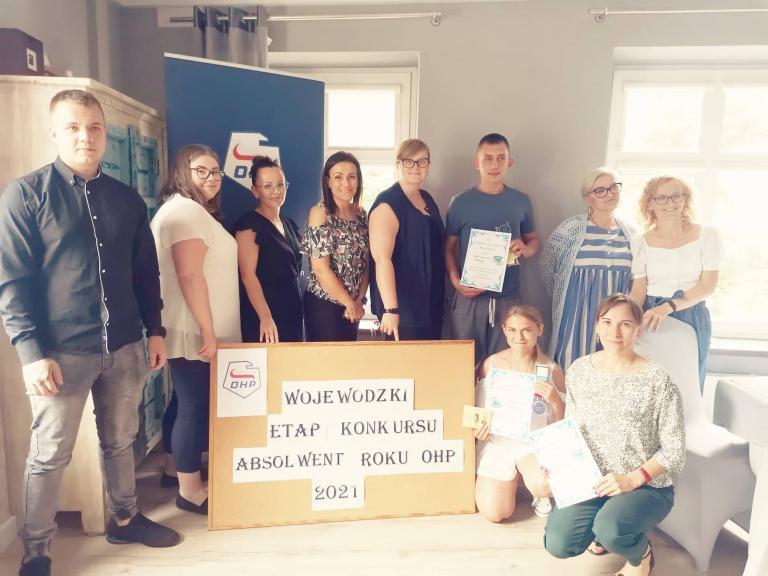 Wojewódzki Konkurs o tytuł Absolwenta Roku OHP 2021
