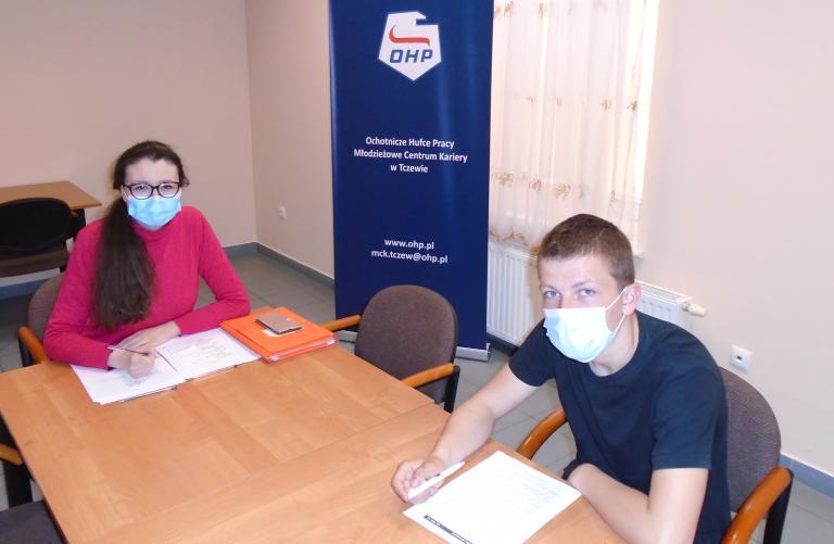 Zajęcia indywidualne dla młodzieży kończącej szkołę w Tczewie
